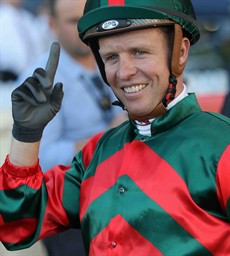 Kerrin McEvoy ... I'm going for him to edge out 'Magic Man' Joao Moreira in a tight battle for the Jockey Challenge