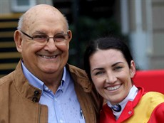 "Under the race track heading I must mention Kilcoy, the ""Moonee Valley of the North"" as a favourite as well. Chairman Con Searle (pictured here with Tegan Harrison) has fought debilitating kidney issues in 2016 and 2017. This seen him undergo a kidney transplant around July 2017. He is doing well and is back bigger and better than ever."