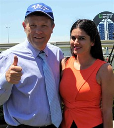 "I just hope the stunning Chloe Currant straps Flamboyer as she is much better on the eye than the leading Gold Coast strapper – sorry the self-proclaimed ""Gold Coast Number 1 strapper"" – Luke Milligean. (see race 8)"