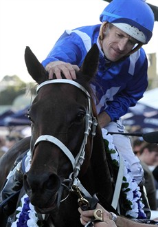 Winx and Hugh Bowman should enjoy another big day out (see race 6)