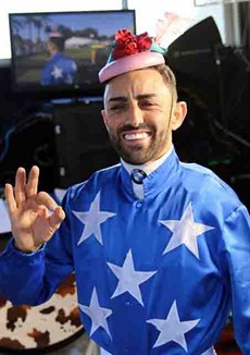 I see Ben Currie has managed to lure Bobby El-Issa (pictured above) to Toowoomba to ride Amanaat in the Weetwood. Now Bobby fancies himself as a jockey – a fisherman – a comic – an expert at live streaming and I did manage to see him model some fashion last year at Grafton over the 2017 Grafton Carnival. I think he may need to expand his repertoire to include being a magician! I am only joking! This Currie runner is undefeated at the track and distance – on the minimum and drawn handy – so Bobbster over to you my friend