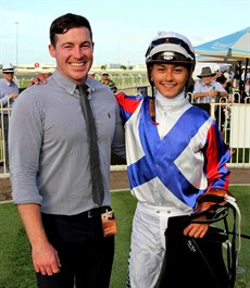 Ben Currie and Michael Murphy - will their run of Metropolitan success continue on Toowoomba's feature race-day?