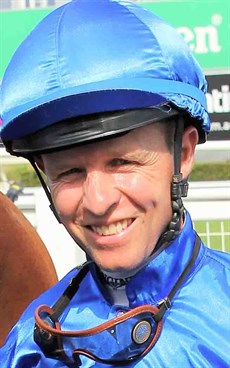 Kerrin McEvoy … could give Hugh Bowman a real go in the Jockey Challenge