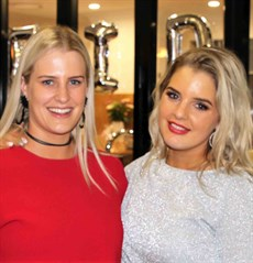 "Tayla and Heidi  … ""Sometimes I actually use Tayla's deodorant if I run out – it smells pretty good! But, in regard to selecting fragrances Heidi is the go-to girl,"" said Adam"