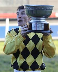 There's a lot of tradition at the Grafton carnival … a lot of big name winners like celebrated jockey Robert Thomson, pictured here after his Ramornie win aboard Big Money back in 2014 which was Thompson's fourth win in the race
