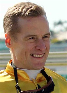 Blake Shinn … he had a received a licence to ride in Hong Kong